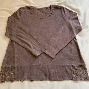 Garnet Hill Women's 100% Organic Linen Top